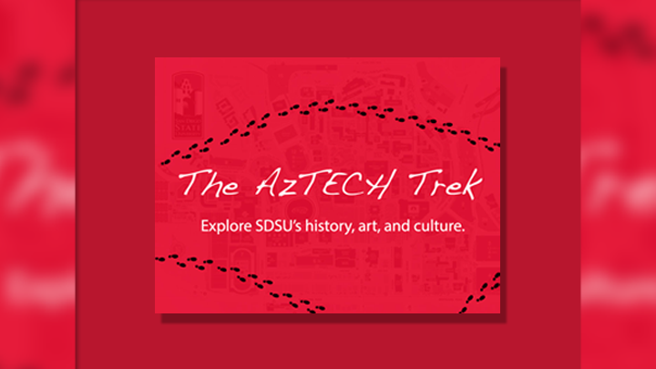 aztech trek explore sdsu history art culture