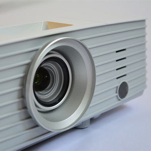 projector front angled