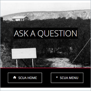 screenshot scua ask question page