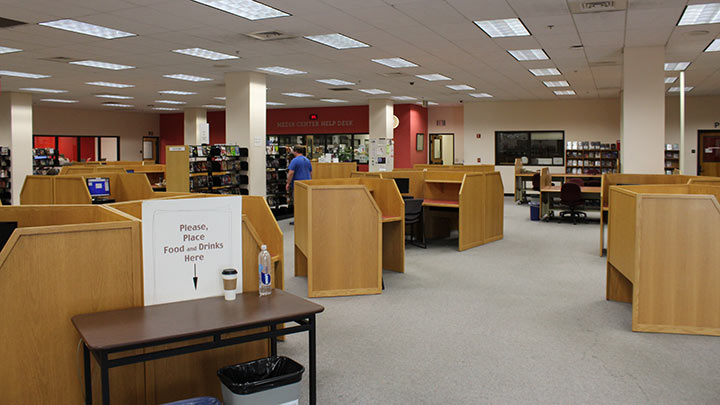 sdsu library media center interior