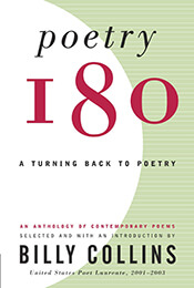 Book Cover of Poetry 180 by Billy Collins