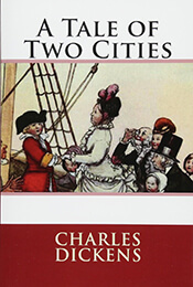 Book Cover of A Tale of Two Cities by Charles Dickens