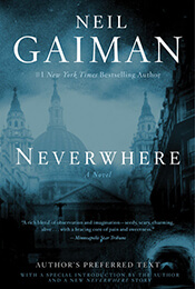 Book Cover of Neverwhere by Neil Gaiman