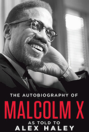 Book Cover of The Autobiography of Malcom X by Malcolm X