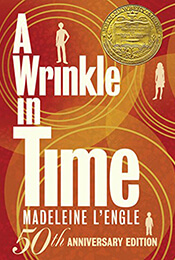 Book Cover of A Wrinkle in Time by Madeline L'Engle'