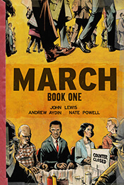 Book Cover of March by John Lewis, et al