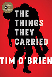 Book Cover of The Things they Carried by Tim O'Brien'
