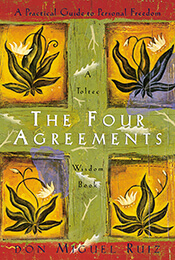 Book Cover of The Four Agreements by Don Miguel Ruiz