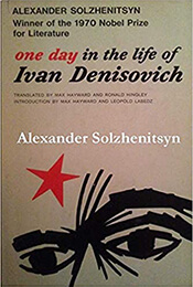 Book Cover of A Day in the Life of Ivan Denisovich by Solzhenitsyn