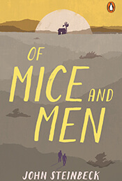 Book Cover of Of Mice and Men by Steinbeck