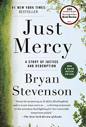 Book Cover of Just Mercy by Bryan Stevenson