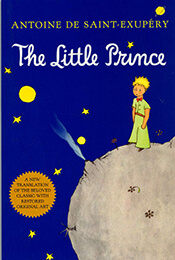 Book Cover of The Little Prince by de Saint-Exupery