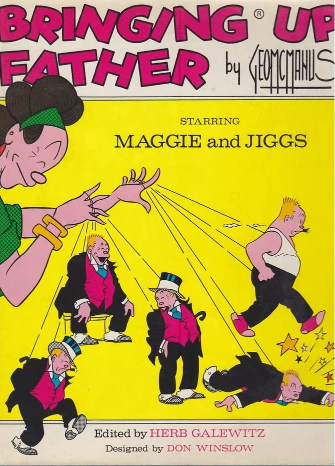 Cover of Bringing Up Father, Starring Maggie and Jiggs