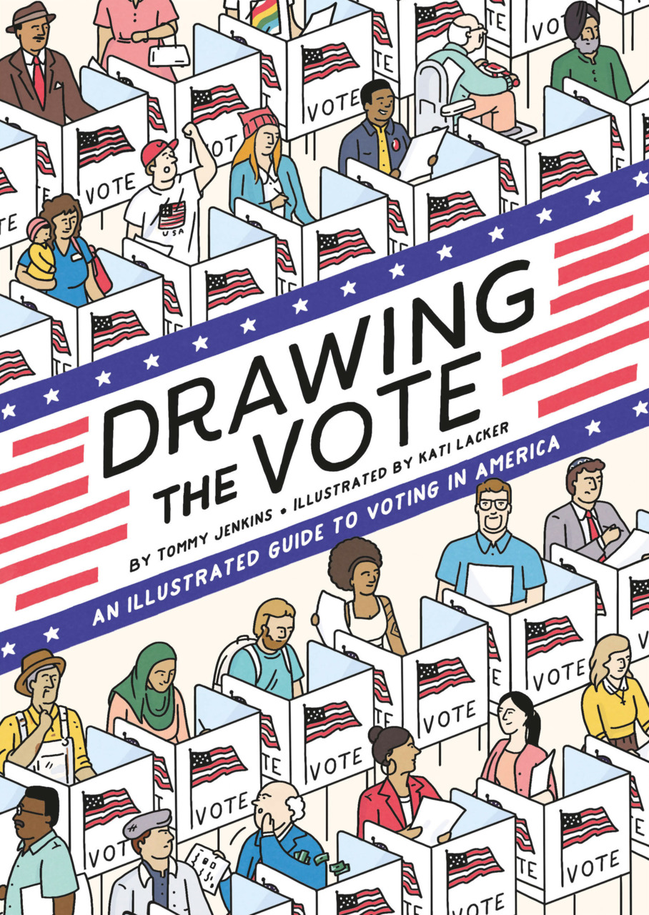 Cover art for Drawing the Vote