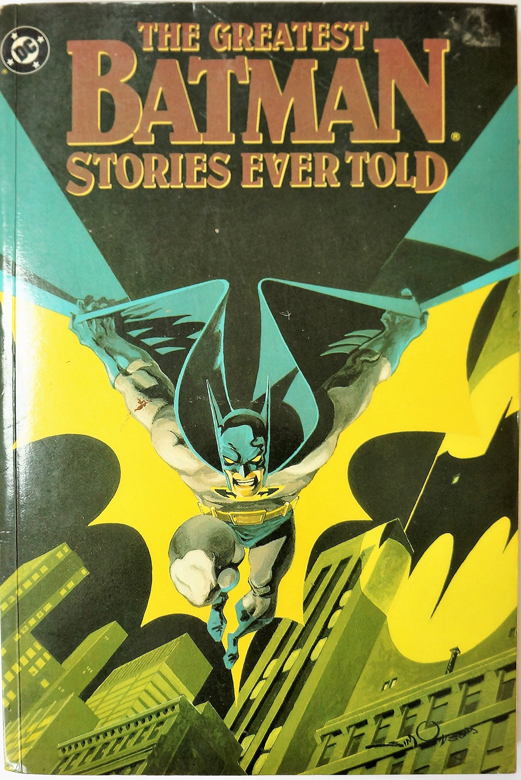 Cover of The Greatest Batman Stories Ever Told