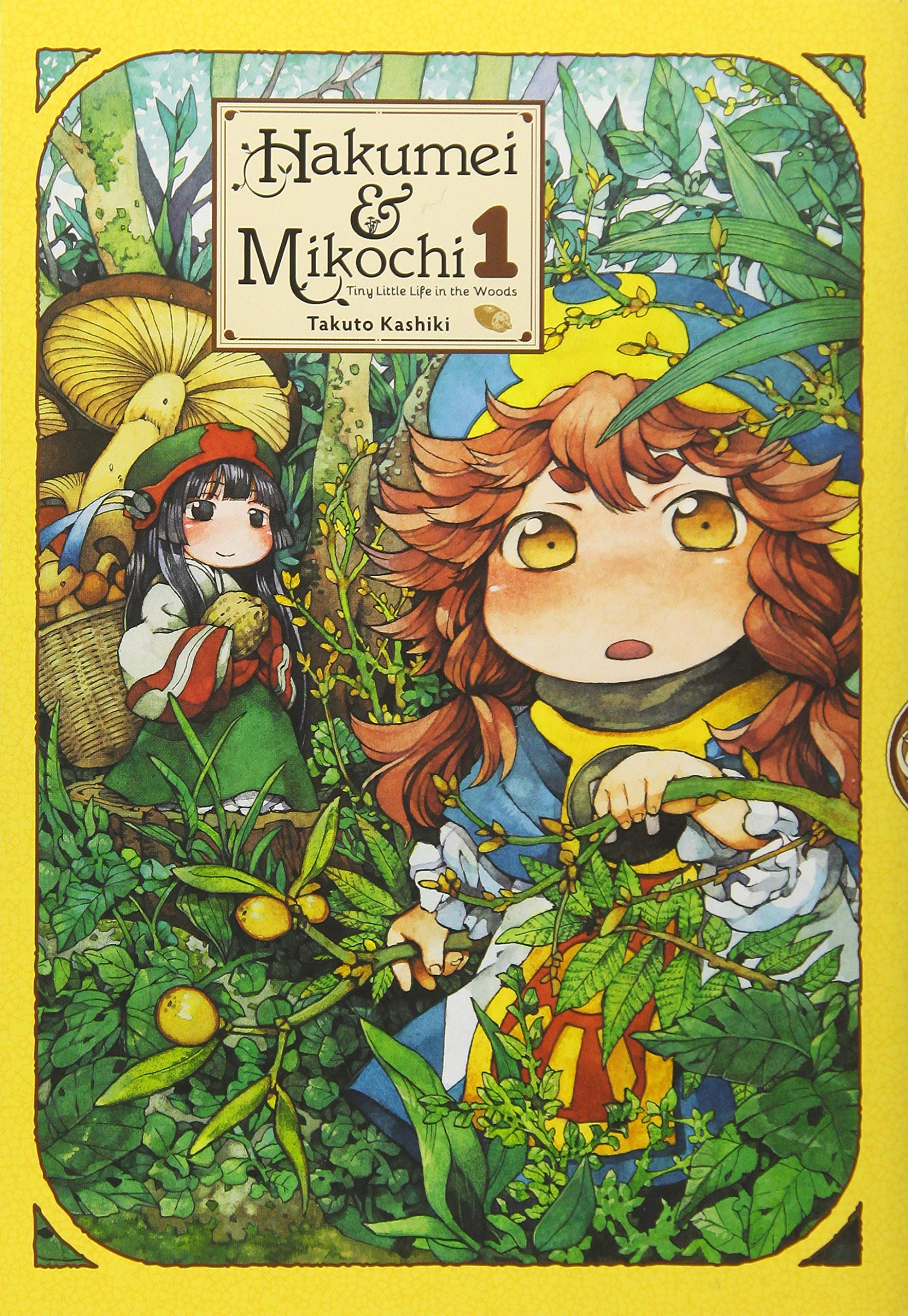 Cover of Hakumei & Mikochi: Tiny Little Life in the Woods
