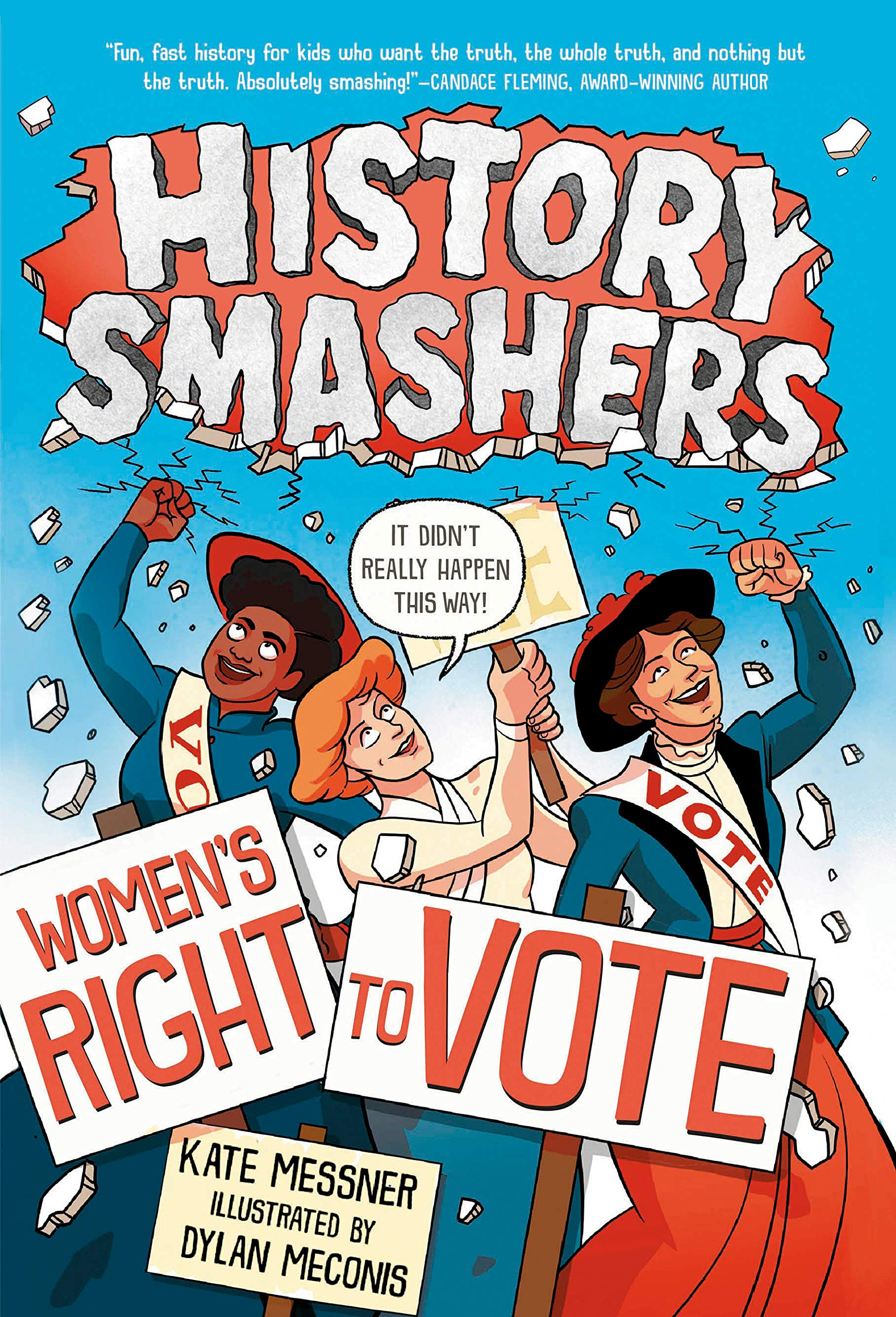 Cover art for History Smashers: Women's Right to Vote