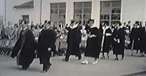 First commencement at Montezuma Mesa campus, 1931