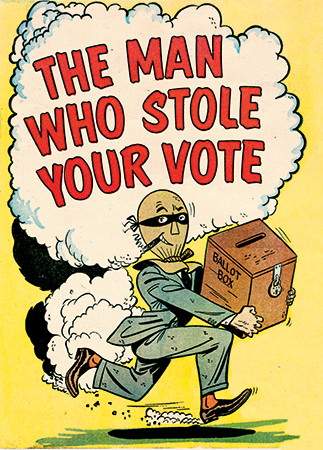 Cover art for The Man Who Stole Your Vote