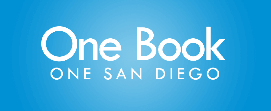 SD Public Library One Book One San Diego Logo