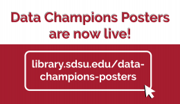 Data Champions Posters are now live!