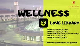 wellness @ Love Library
