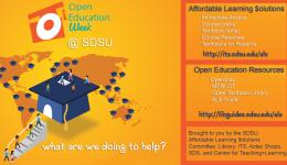 open education week at sdsu