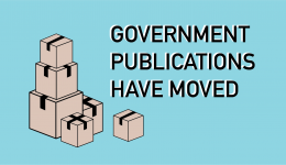 government publications have moved