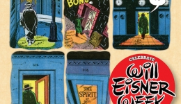 Poster for Will Eisner Week 2018