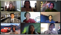 buildit students in Zoom