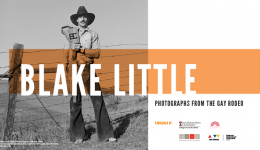 exhibit blake little photographs from the gay rodeo
