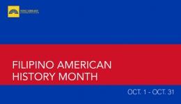 filipino american history month sdsu library