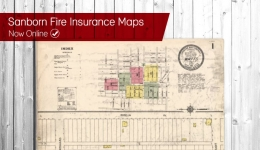 sanborn fire insurance maps now online