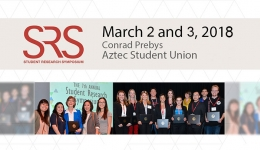 student research symposium mar 2 & 3 2018