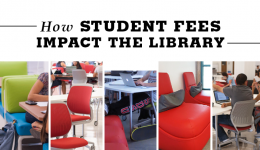 how student fees impact the library