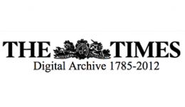 the times digital archive 1785-2012