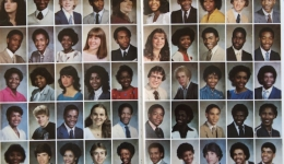 Yearbook - Graduating class of 1983 from University City Senior High School