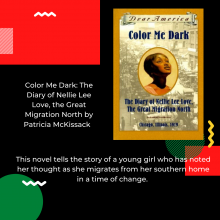 Color Me Dark: The Diary of Nellie Lee Love, the Great Migration North by Patricia McKissack