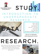 introduction to undergraduate research study data research