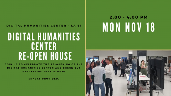DH Center re-open house
