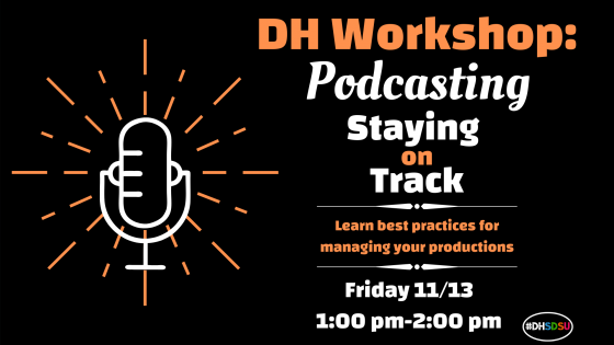 Staying on Track Podcasting Workshop