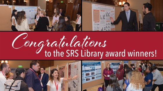 congratulations to the SRS Library award winners