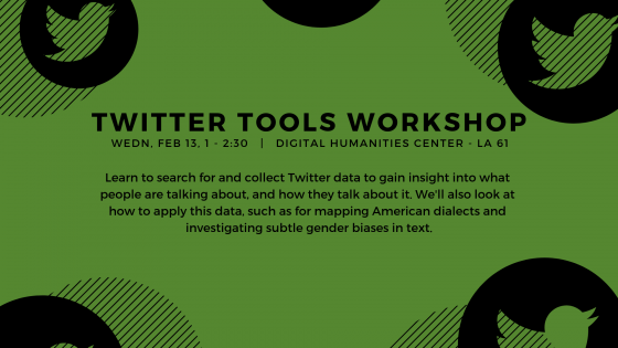 Twitter Tools Workshop