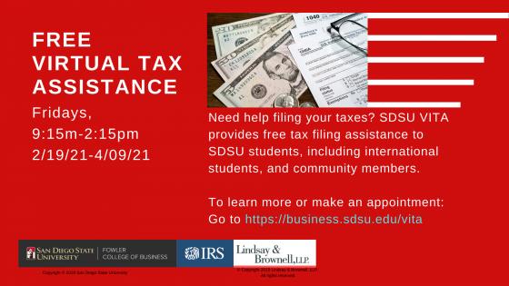 free virtual tax assistance