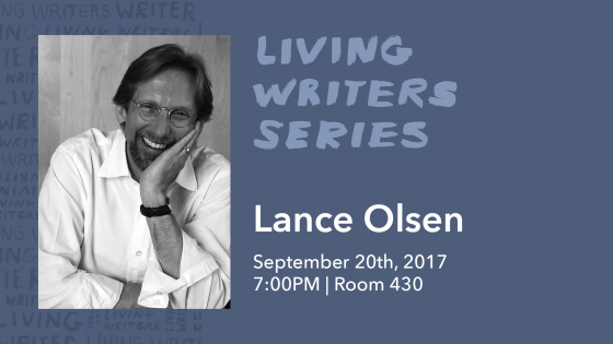 living writers series lance olsen