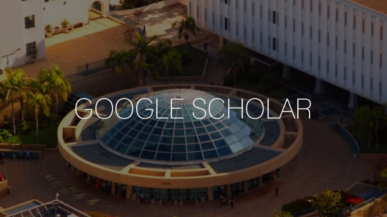 google scholar on distant view of library dome