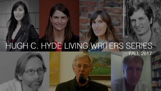 hugh hyde living writers series fall 2017 guest collage