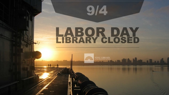 labor day library closed 9/4