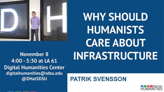 patrik svensson why should humanists care about infrastructure