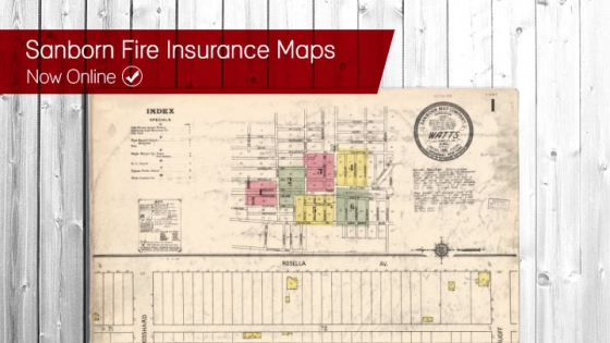 Sanborn Fire Map.Sanborn Fire Insurance Maps Now Online Sdsu Library And